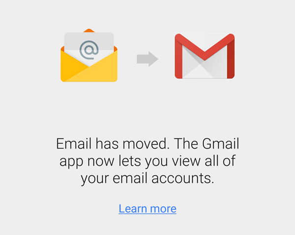 how do i remove an account from gmail app